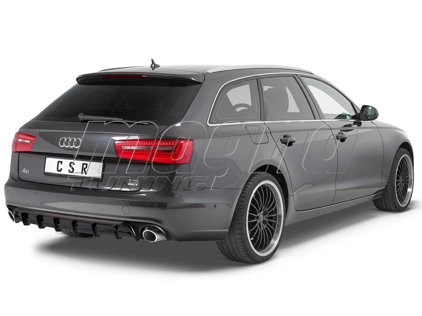 Audi A6 C7 / 4G Cyber Rear Bumper Extension