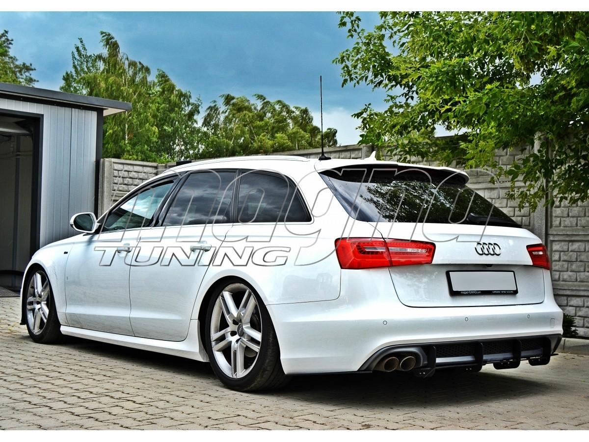 Audi A6 C7 4g Mx Rear Bumper Extension