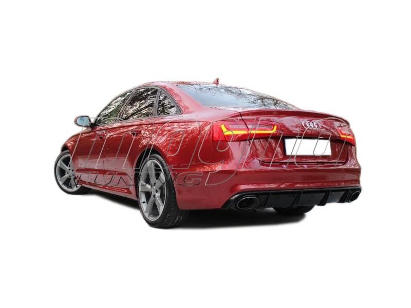 Audi A6 C7 / 4G RS6-Look Heckansatz