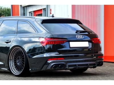 Audi A6 C8 / 4K Intenso Heckansatz