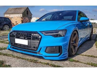 Audi A6 C8 / 4K Razor Front Bumper Extension