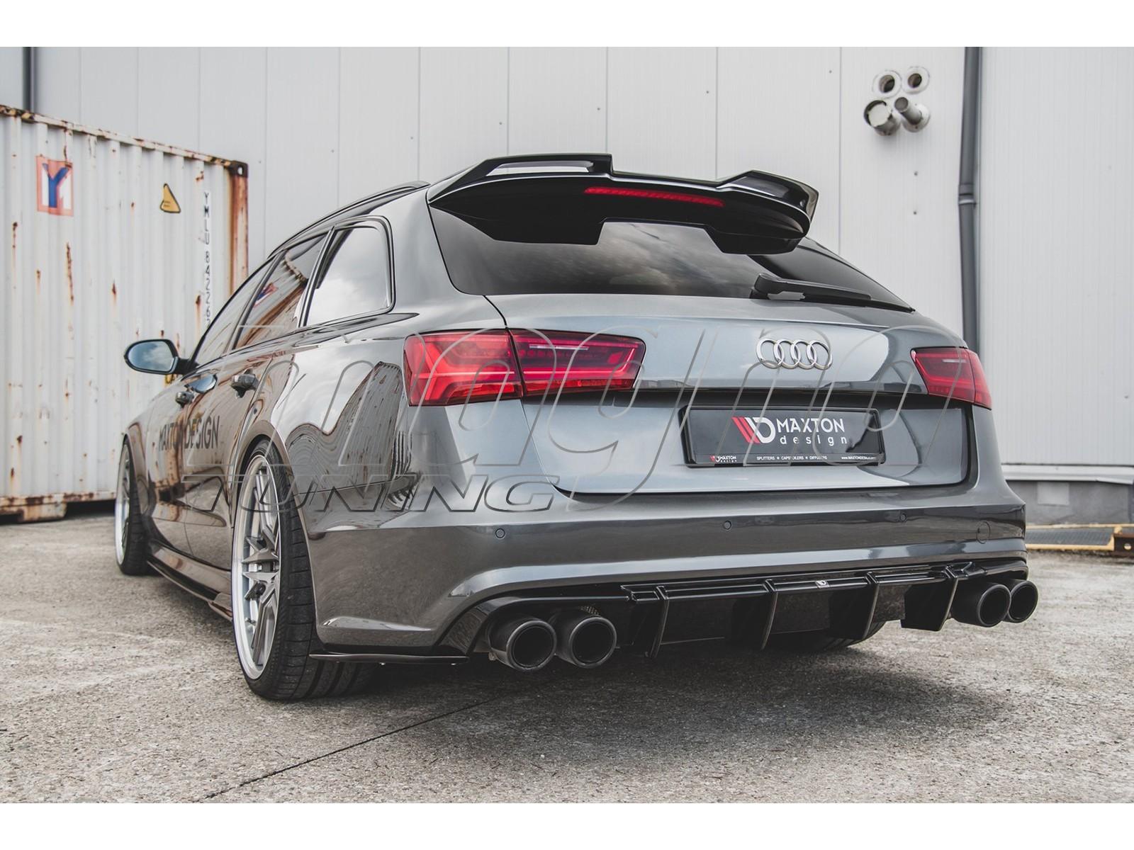 Audi A6 S6 C7 4g Facelift Monor Rear Bumper Extension
