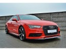 Audi A7 4G Facelift MX Front Bumper Extension