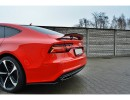 Audi A7 4G Facelift MX Rear Bumper Extension