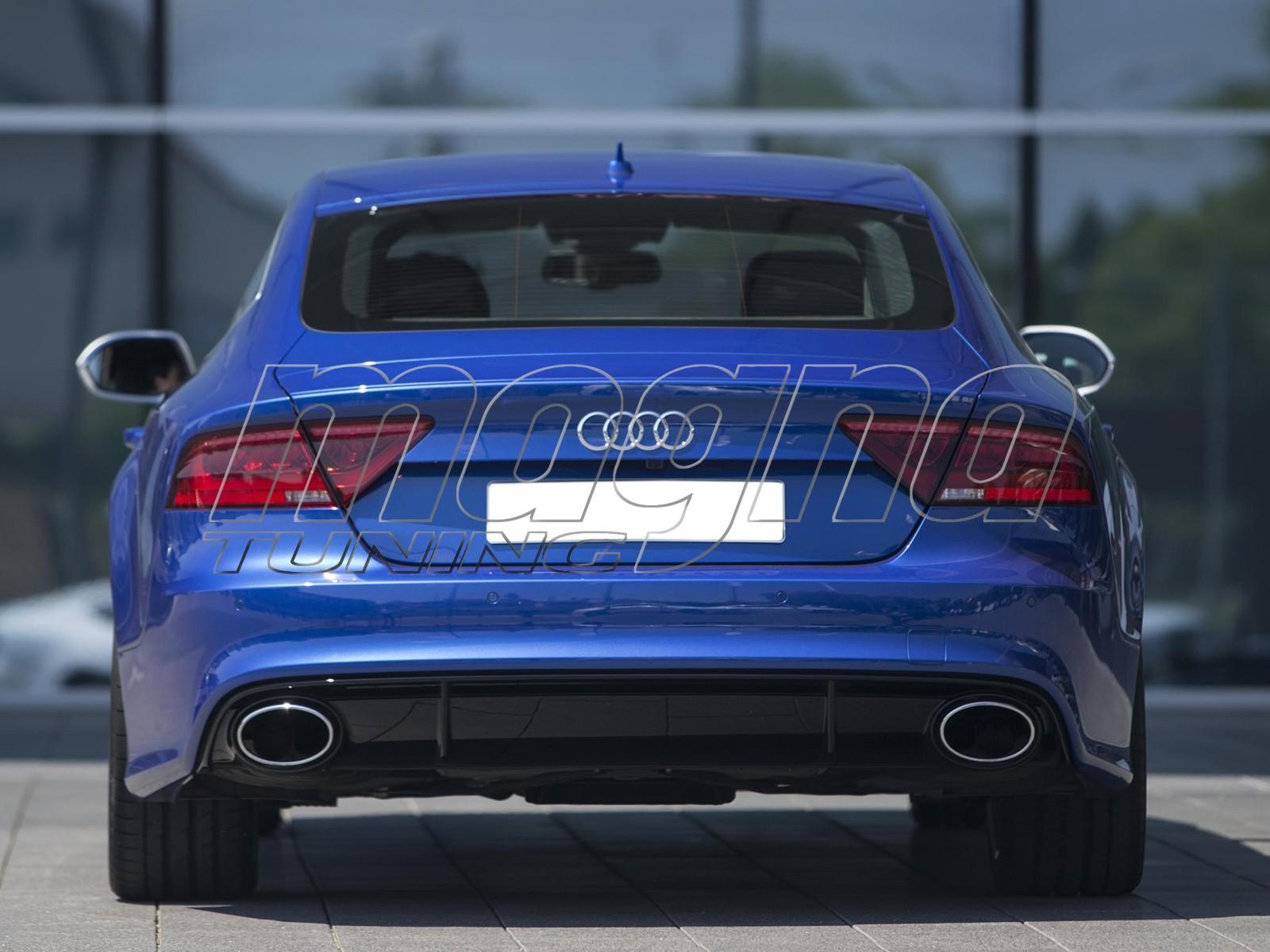 Audi A7 4G RS7-Look Heckansatz
