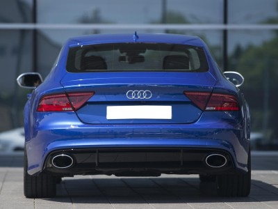 Audi A7 4G RS7-Look Rear Bumper Extension