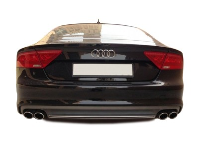 Audi A7 4G S7-Look Rear Bumper Extension