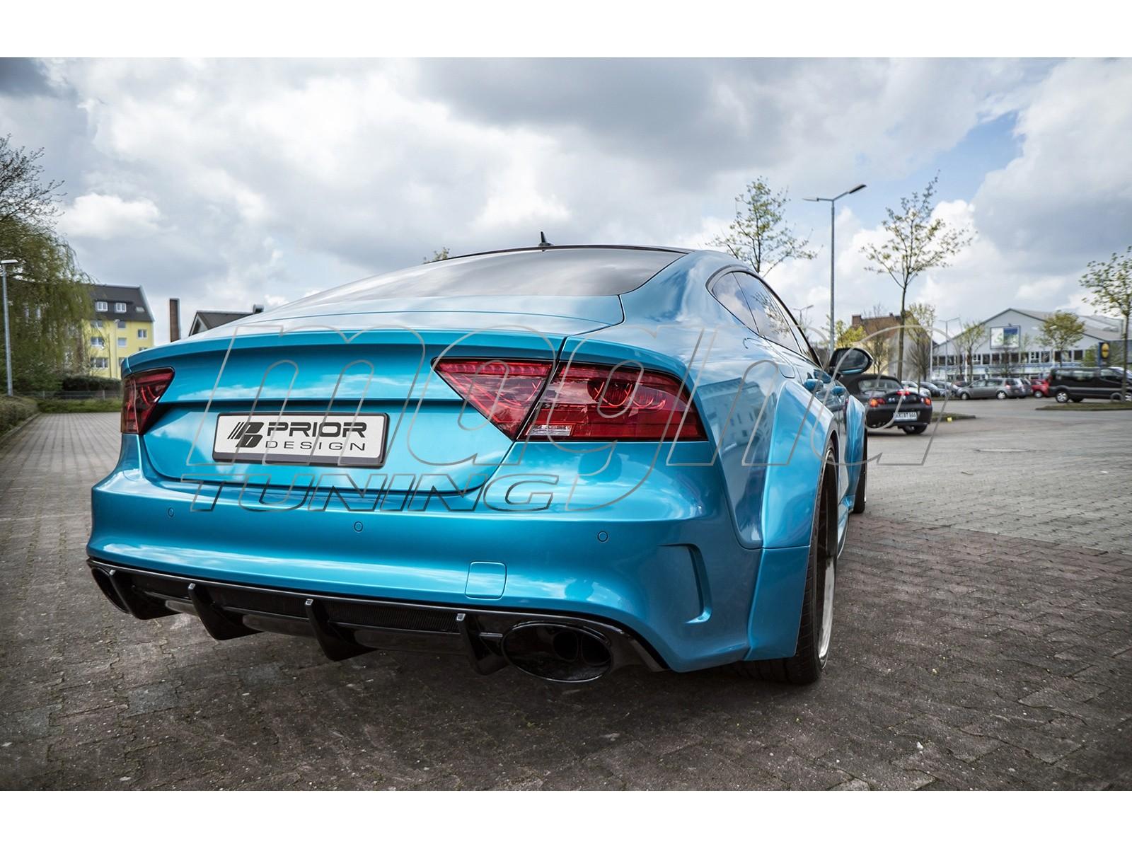Audi A7 4G8 Exclusive Heckstossstange