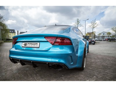 Audi A7 4G8 Exclusive Rear Bumper