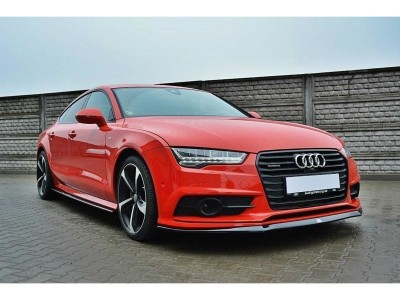 Audi A7 4G8 Facelift MX Front Bumper Extension