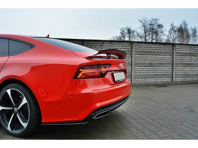Audi A7 4G8 Facelift MX Rear Bumper Extension