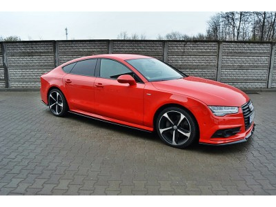 Audi A7 4G8 Facelift MX Side Skirt Extensions