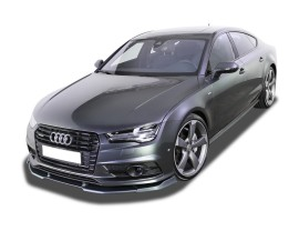 Audi A7 4G8 Facelift V2 Front Bumper Extension