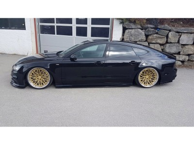 Audi A7 4G8 Matrix Side Skirt Extensions