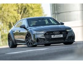 Audi A7 4K8 Exclusive Front Bumper Extension