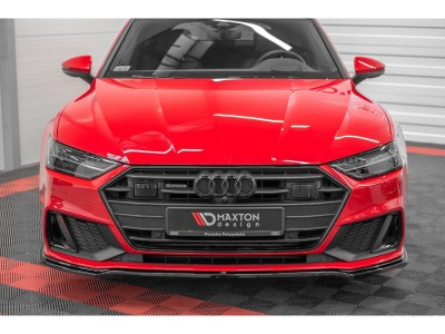 Audi A7 4K8 MX Front Bumper Extension