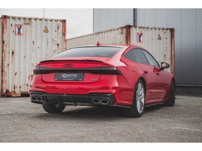 Audi A7 4K8 MX Rear Bumper Extension