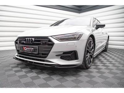 Audi A7 4K8 Matrix Front Bumper Extension