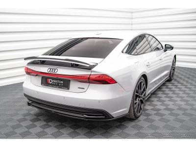 Audi A7 4K8 Matrix Rear Bumper Extension