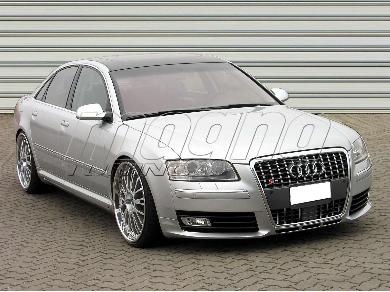 audi a8 4e facelift s8 look frontstossstange. Black Bedroom Furniture Sets. Home Design Ideas