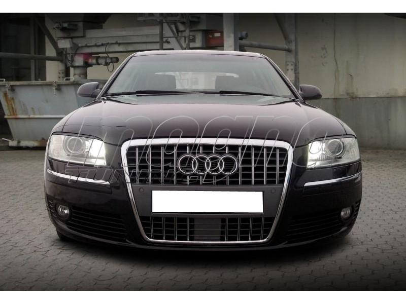 Audi A8 4E Vortex Scheinwerferblenden