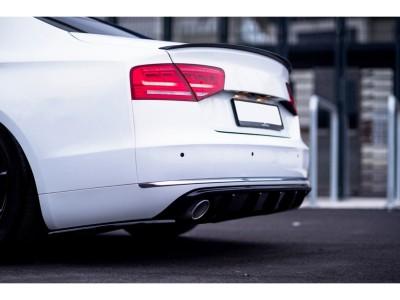 Audi A8 D4 / 4H MX Rear Bumper Extensions
