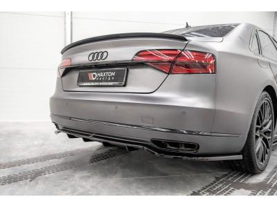 Audi A8 D4 / 4H Matrix Rear Bumper Extension