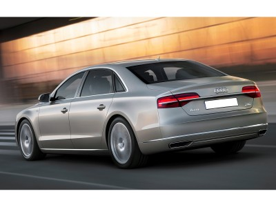 Audi A8 D4 / 4H W21-Look Rear Bumper Extension