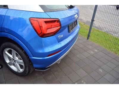 Audi Q2 MX Rear Bumper Extensions