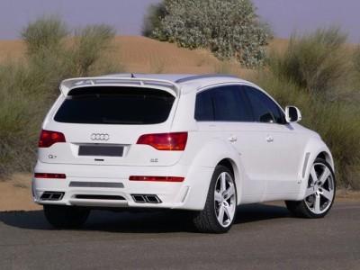 Audi Q7 4L E-Style Rear Bumper Extension