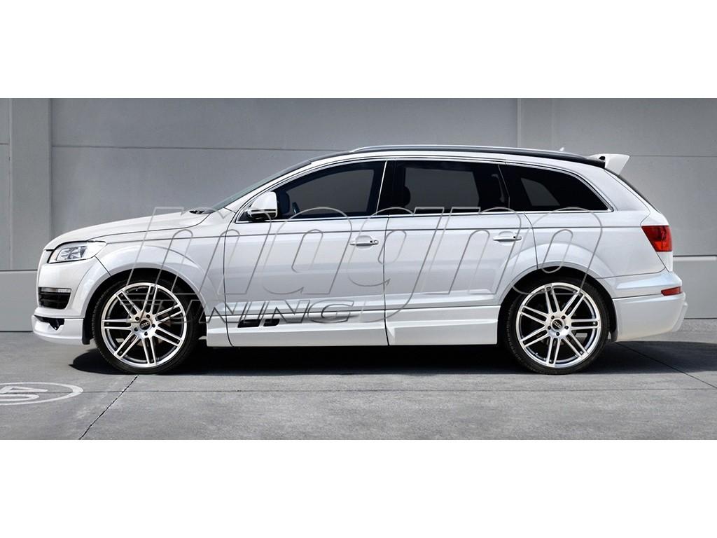 Audi Q7 4L Imperator Side Skirts