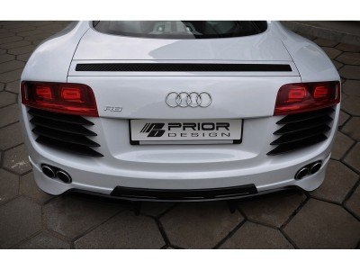 Audi R8 Exclusive Rear Bumper Extension