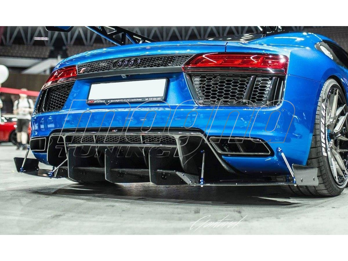 Audi R8 MK2 Extensie Bara Spate Racer