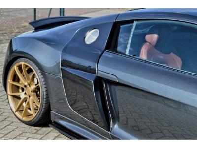 Audi R8 Prize De Aer Laterale V10-Look