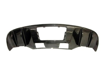 Audi R8 V8 Supreme Carbon Fiber Rear Bumper Extension