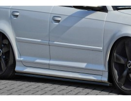 Audi RS3 8P Intenso Side Skirt Extensions