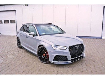 Audi RS3 8V MX Front Bumper Extension