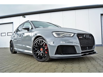 Audi RS3 8V MX2 Front Bumper Extension