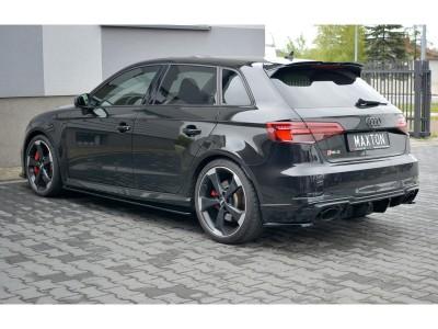 Audi RS3 8V Master Side Skirt Extensions