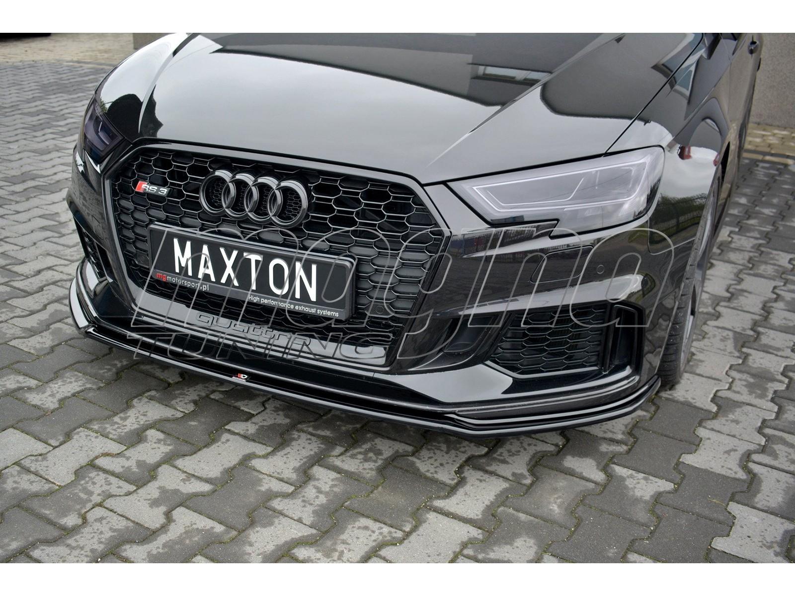 Audi RS3 8V Master2 Frontansatz