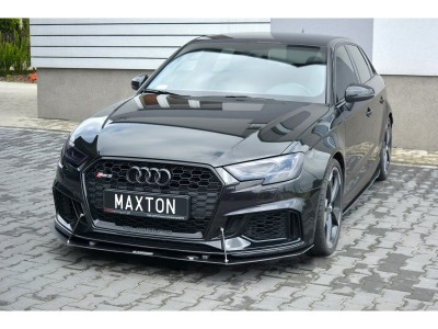 Audi RS3 8V RaceLine Front Bumper Extension