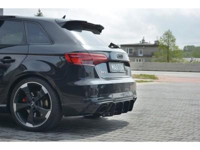 Audi RS3 8V RaceLine Rear Bumper Extension