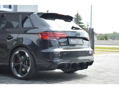 Audi RS3 8V RaceLine2 Rear Bumper Extension