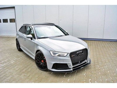 Audi RS3 8V Racer Front Bumper Extension
