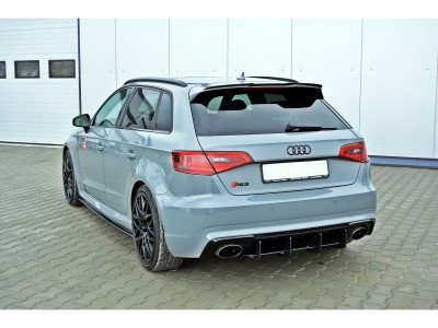 Audi RS3 8V Racer Rear Bumper Extension