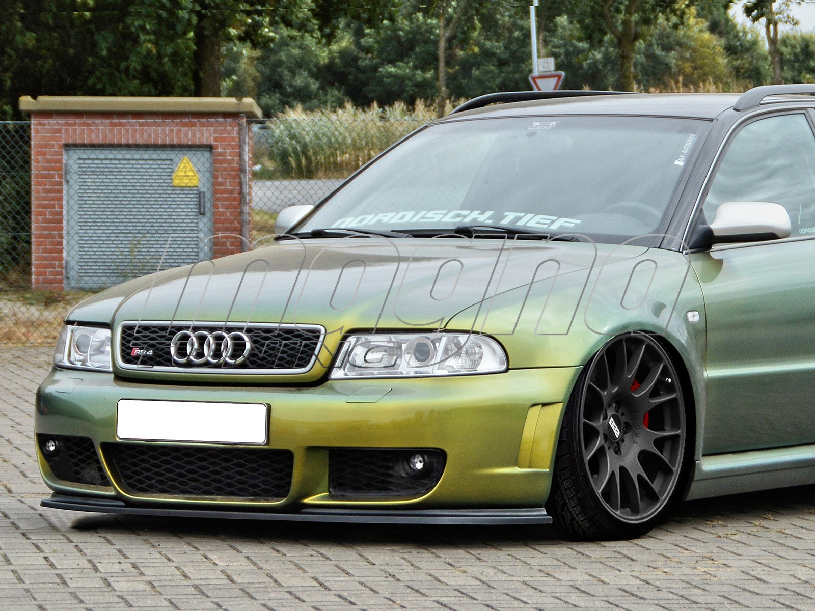 audi rs4 b5 intenso front bumper extension. Black Bedroom Furniture Sets. Home Design Ideas