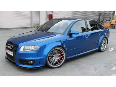 Audi RS4 B7 MX Side Skirt Extensions