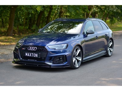 Audi RS4 B9 MX Front Bumper Extension