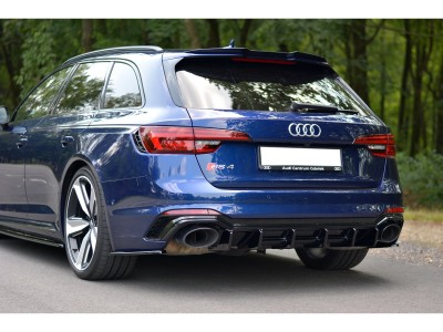 Audi RS4 B9 MX Rear Bumper Extension