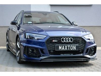 Audi RS4 B9 MX2 Front Bumper Extension